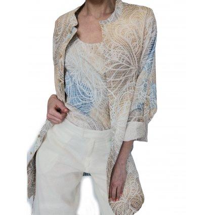 Lehký bavlněný kabátek