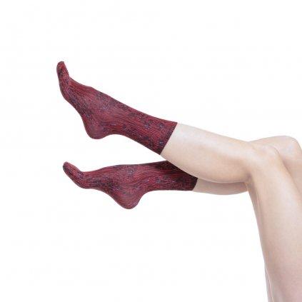 Designové ponožky s potiskem GRACE