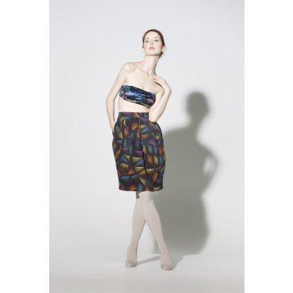 Bavlněná sukně MATRIX